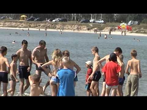 """10 серия. Пляж озера """"Горькое"""". Лазурный 2013"""