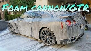 Chemical Guys Foam Cannon Nissan GTR