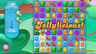 Candy Crush Jelly Saga - Level 30 (No boosters)