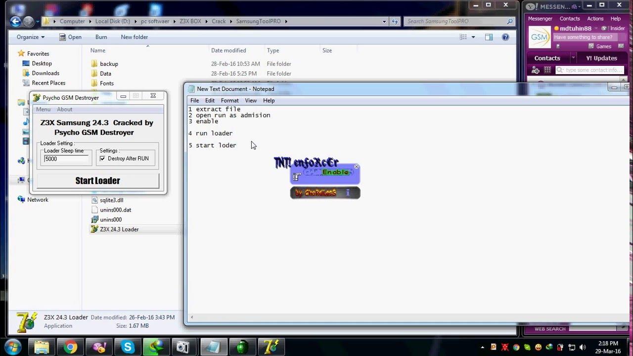 z3x samsung tool v19.1