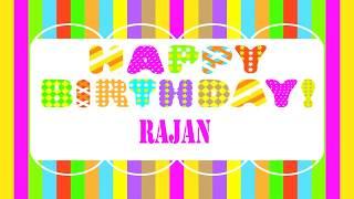 Rajan   Wishes & Mensajes - Happy Birthday