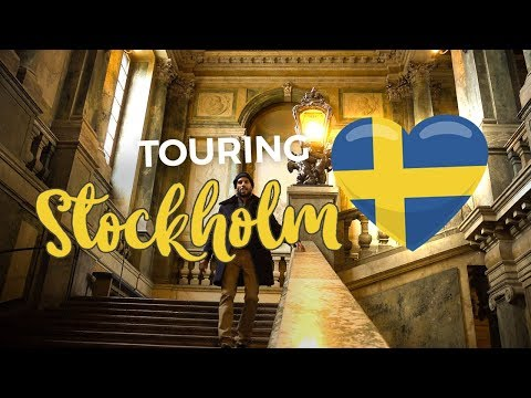Stockholm Travel Vlog 2018 |  Photography Museum + Stockholm Palace