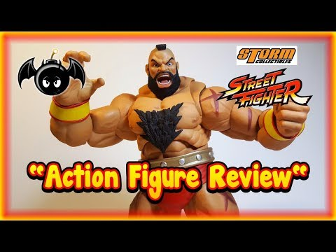 Storm Collectibles Zangief figure review. (Street Fighter V)