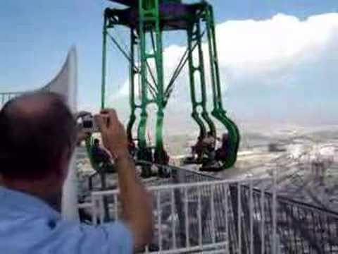 Las Vegas Stratosphere Insanity Ride Youtube