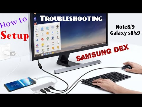 [Tutorial] Running Samsung Dex WITHOUT Using Samsung Dex Station On Galaxy Note 9 / Note 8 / S9 / S8