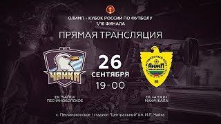 Чайка   Анжи 116 финала Олимп Кубка России