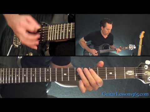 Symphony of Destruction Guitar Lesson (Chords/Rhythms) - Megadeth