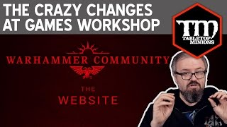 The Crazy Changes at Games Workshop