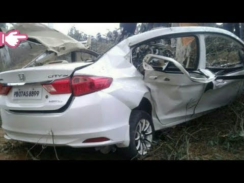 Top_5 Honda City Crash|ensafe Cars Accident|Highway and Road|India 2019
