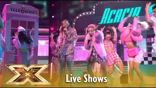 Acacia & Aaliyah Dripping In Finesse With Bruno Mars | Live Shows Week 1 | The X Factor UK 2018