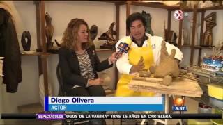 Corazón que miente   Diego Olivera se prepara para su personaje