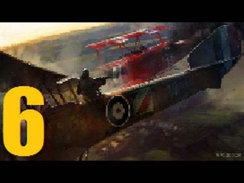 Battlefield 1 gameplay walkthrough part 6- Knights of the Sky (With commentary) |