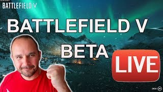 BATTLEFIELD V BETA LIVE PS4 - second blood :) - Na żywo