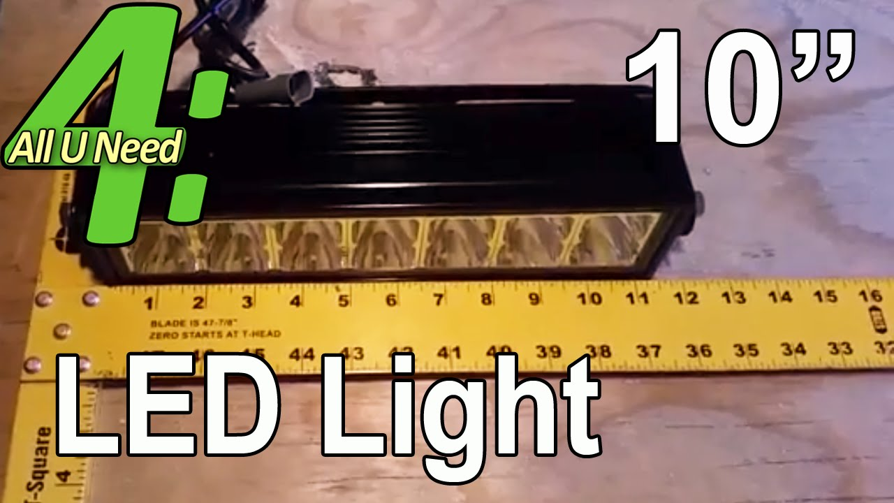 Anzo 10 led light bar all u need in 4 minutes auni4 youtube anzo 10 led light bar all u need in 4 minutes auni4 aloadofball Image collections