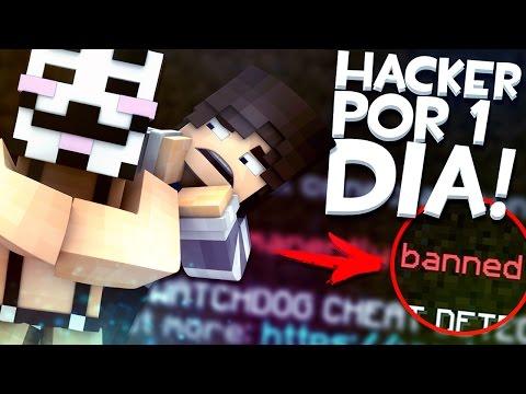 ME BANEAN DEL SERVIDOR POR USAR HACKS - Usando Hacks en Minecraft - Hacker por un día