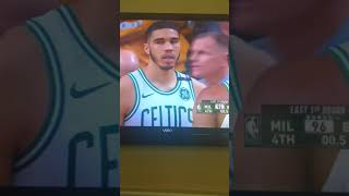 The most craziest 10 seconds in playoff history! Bucks vs. Celtics game 1