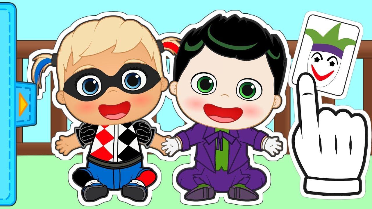 Bebés Alex Y Lily Se Disfrazan De Villanos Gameplay Con Superheroes Gameplay Y Juegos De Bebé