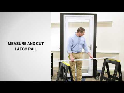 Installing Storm Doors With The Pro Installation System   Andersen Windows