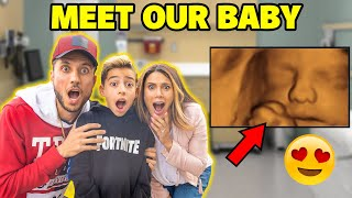 MEET Our BABY BOY! 4D ULTRASOUND (ADORABLE!!) ❤️ | The Royalty Family
