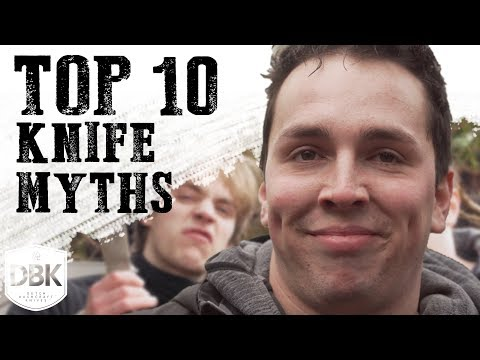 Top 10 Things Everybody Gets Wrong About knives!