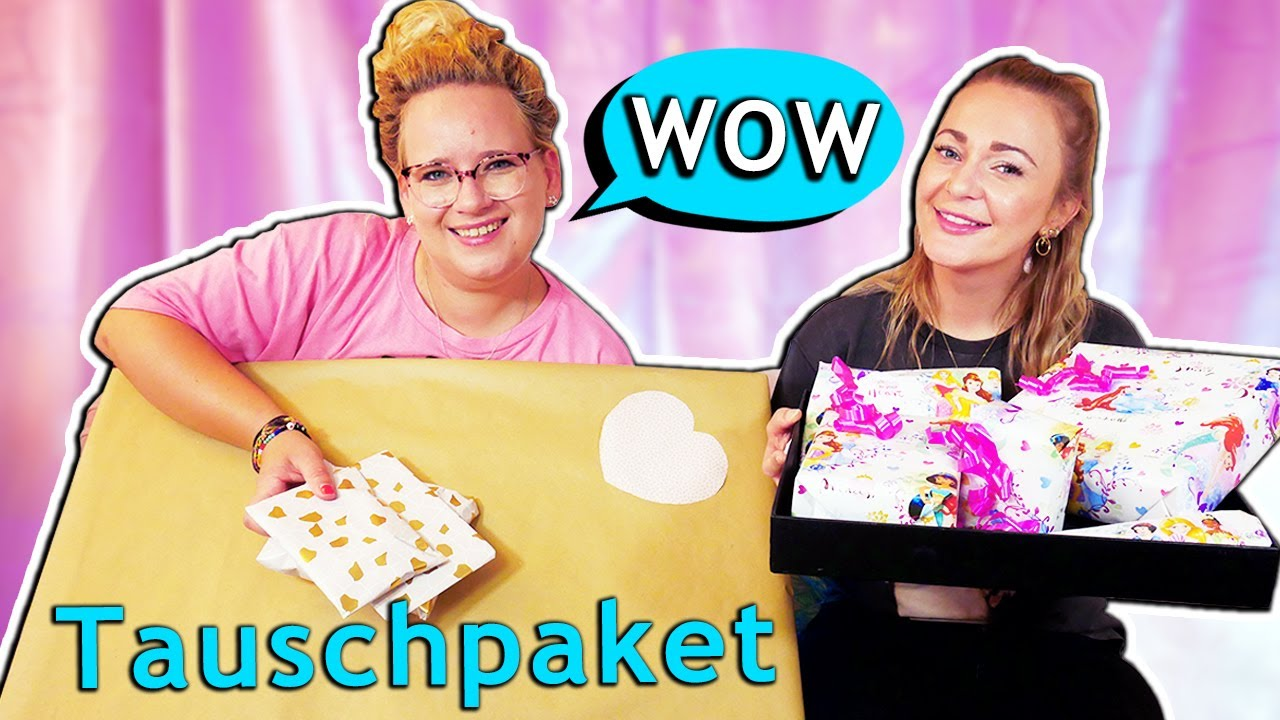 Crazy Tauschpaket | Total verrücke Überraschungen für Bianca & Eva