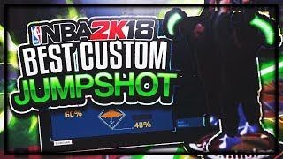THE BEST CUSTOM JUMPSHOT IN 2K18 | NEVER MISS ON ANY ARCHETYPE |