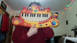 Demonstration of Toy Cat Keyboard