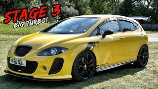 THIS BIG TURBO *STAGE 3 440BHP* SEAT CUPRA JUST EATS UP THE ROAD
