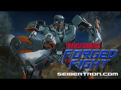 Transformers Forged To Fight Last Knight Hot Rod Exclusive Clip v05
