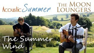 Frank Sinatra Summer Wind | Acoustic Guitar Version by the Moon Loungers (with guitar tab)