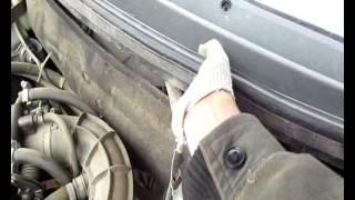 видео как заменить фильтр салона ваз 21124
