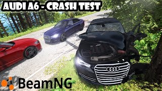 ★ Audi A6 C7 crash test - BeamNG Drive