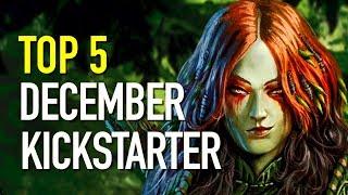 Best 5 Indie Games on Kickstarter - December 2017