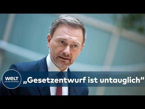 INFEKTIONSSCHUTZGESETZ: Christian Lindner - 'Gesetzentwurf ist untauglich!' | WELT Interview
