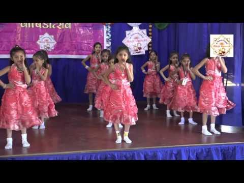 gujarati shala geet performance by shreyas vidyalaya surat