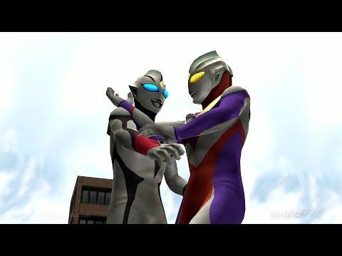 ULTRAMAN TIGA Vs EVIL TIGA (Request 9) #Ultraman (HD) #ウルトラマン