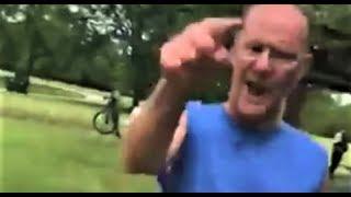 Racist old Man BEATS 2 AFRICAN MEN UP SHAKA ZULU MY A**