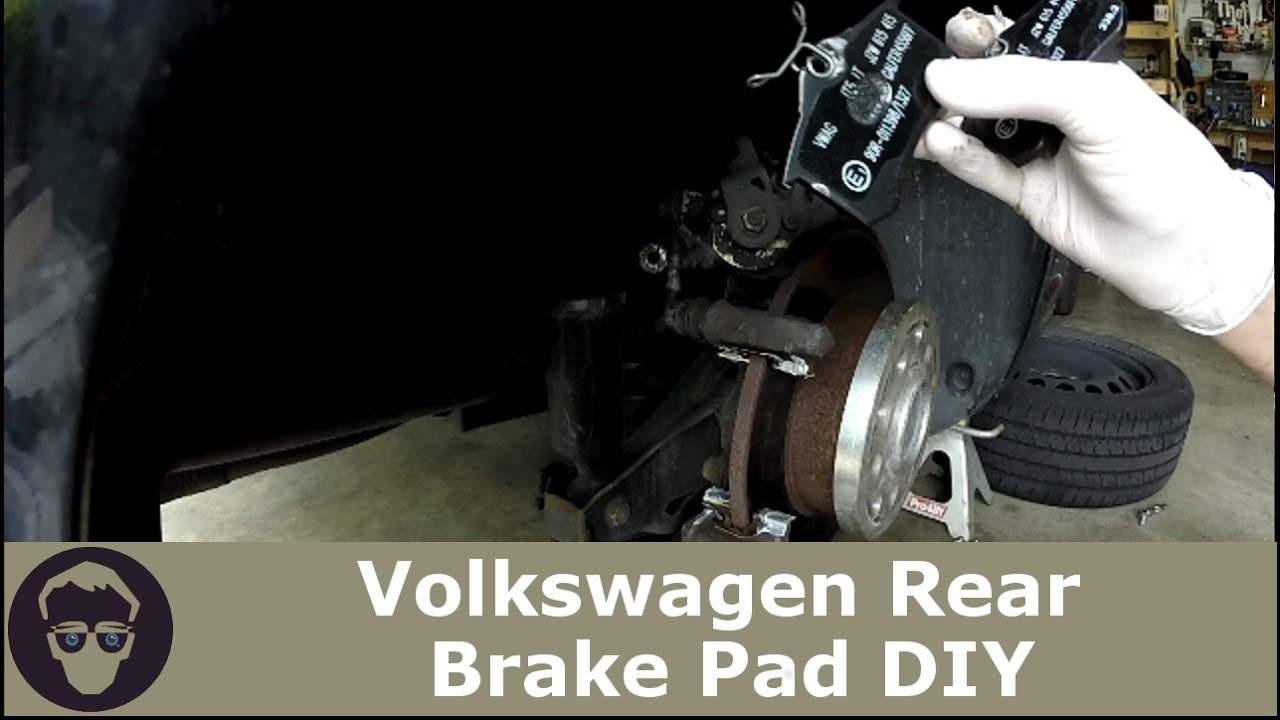 When To Replace Brake Pads >> VW Volkswagen How to Change Rear Brake Pads DIY MK4 Golf Gti Jetta - YouTube