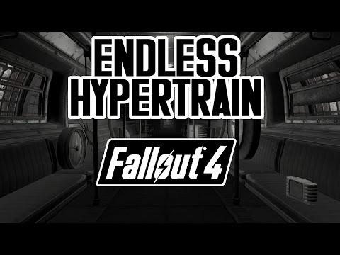 Fallout 4 - Endless Hypertrain - CHICAGO - ENCLAVE, ACTION MEN, & MORE! WTF?! - Quest Mod