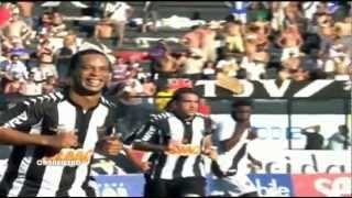 ronaldinho penalty goal vs vasco da gama 11 11 2012