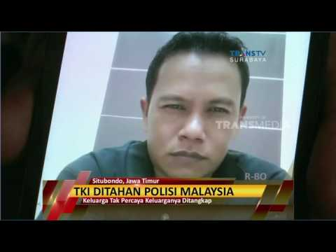 Tak Miliki Dokumen Imigrasi, TKI Ditahan Polisi Malaysia Mp3