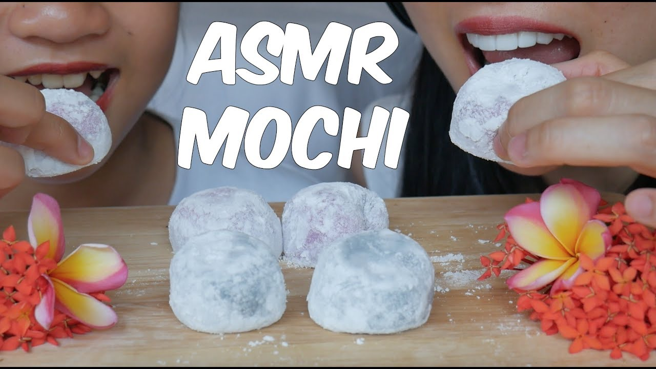 Asmr Mochi Feat Pam My Cousin Sticky Soft Eating Sounds No Talking Sas Asmr Youtube Mix well (add food colouring here if you want). youtube