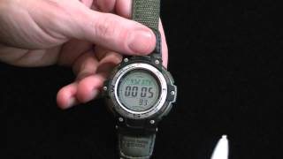 watch Review: Casio Twin Sensor SGW-100-3V