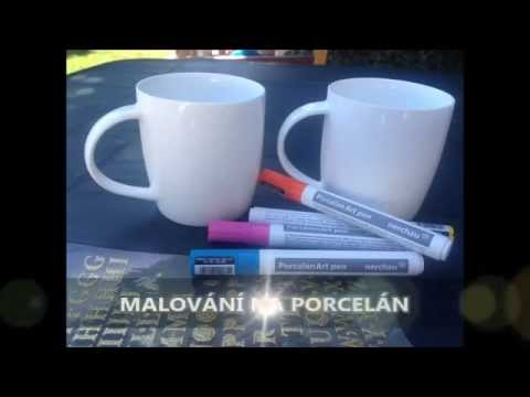 Malovani Na Porcelan Youtube