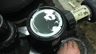 Промывка префильтра насоса фильтрации бассейна(, 2017-02-04T17:51:03.000Z)