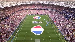 Flags Presentation And Anthems At The Final || 2018 FIFA World Cup Russia™