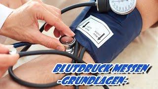 Blutdruck messen - Grundlagen
