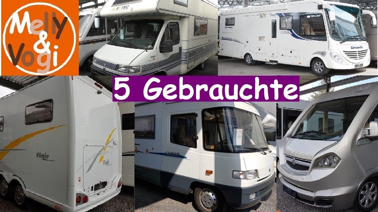8 Gebrauchte Wohnmobile - Sonderschau Caravaning Teil 8