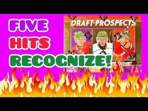 2013 ITG Draft Prospects Hockey Hobby Box Break   5 Hard Hits