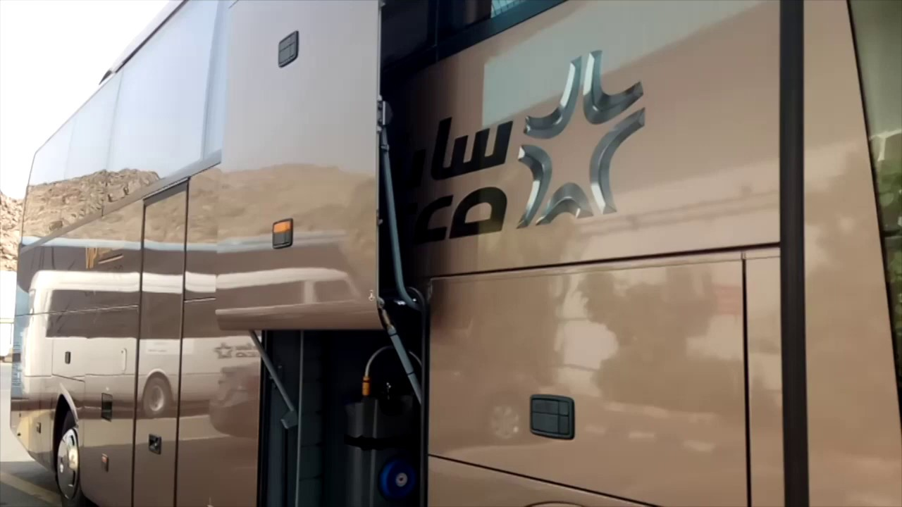 Saptco Bus Best Bus In Saudi Arabia Youtube